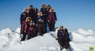 أول عربيات يصلن القطب الشمالي