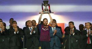 شاهد.. برشلونة يعانق كأس السوبر الإسباني