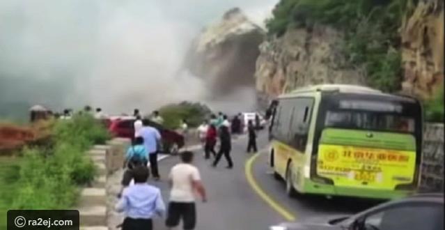 فيديو: مشهد مخيف لإنهيار الأرض فجأة في الصين