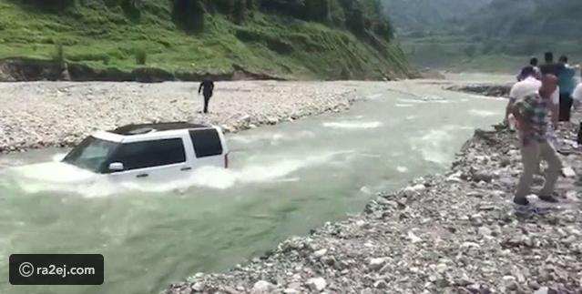 فيديو: أغرق سيارة ثمينة في النهر لتوفير 3 دولارات!