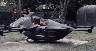 فيديو: رجل يصنع سيارة طائرة للهروب من الزحام المروري