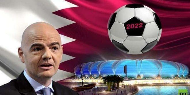 """رئيس """"الفيفا"""": نبحث زيادة عدد المنتخبات المشاركة في مونديال 2022"""