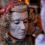 صور: ماكياج العروس دوائر ترمز إلى دورات حياتها