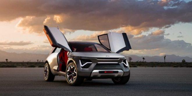 """""""كيا"""" تكشف عن سيارة كهربائية كروس أوفر في معرض نيويورك"""