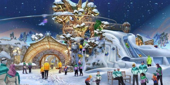 أبوظبي على موعد مع أكبر حديقة ألعاب ثلجية في العالم