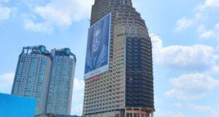 """ناطحة سحاب من 49 طابقا بتايلاند مشهورة باسم """"برج الأشباح"""""""