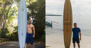 رجل فقد لوح ركوب أمواج بهاواى وعثر عليه فى الفلبين بعد أكثر من عامين
