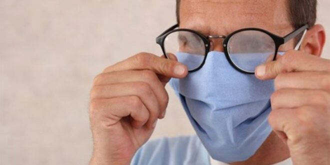 حل بسيط للتخلص من ضباب النظارات أثناء ارتداء الكمامة