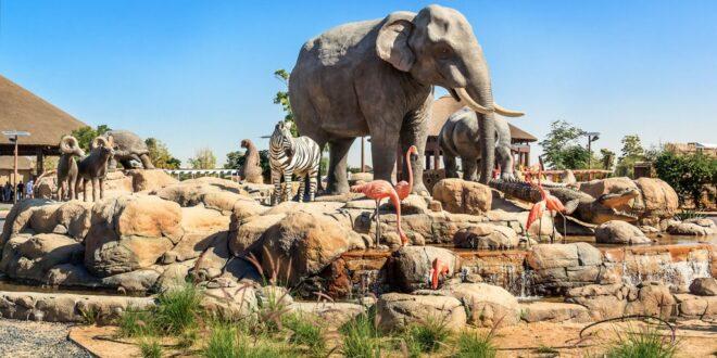 """""""دبي سفاري بارك"""" مغامرة تستحق التجربة وسط الحياة البرية"""