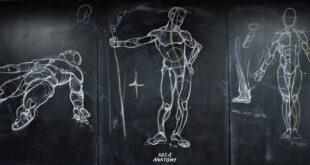 فنان يدمج الفن والطب فى رسومات تشريحية تجتاح السوشيال ميديا في تايلاند