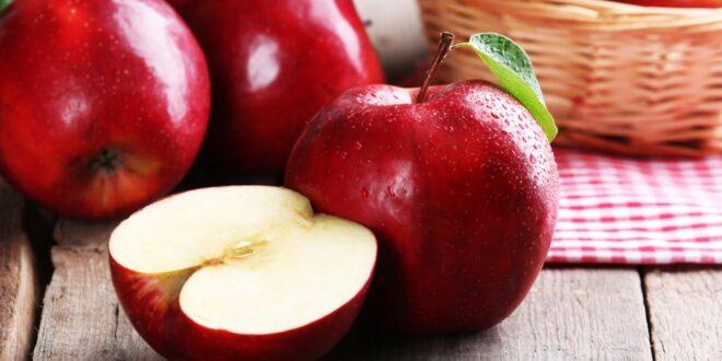 فوائد التفاح على صحة جسمك وبشرتك