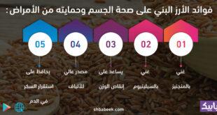 فوائد الأرز البني على صحة الجسم وحمايته من الأمراض
