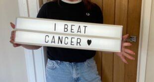 بريطانية تروى قصة اكتشاف إصابتها بسرطان اللسان بسبب قرحة