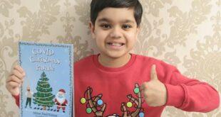طفل بريطانى عمره 8 سنوات يؤلف كتابا عن كورونا خلال فترة الإغلاق