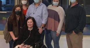 مريضة تستفيق من غيبوبة بسبب كورونا قبل يوم من فصل أجهزة دعم الحياة