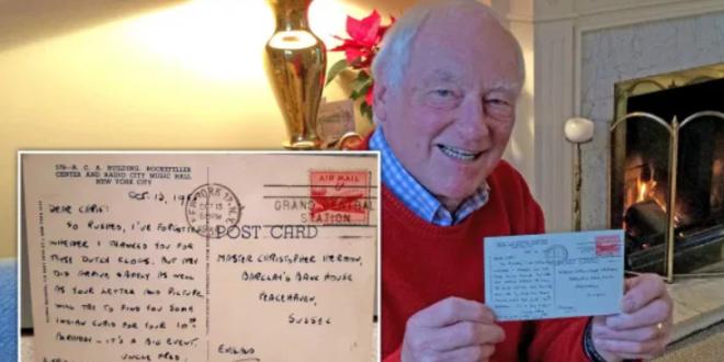 مسن بريطانى يتلقى رسالة بريدية ضائعة منذ 66 عاما