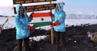 فتاتان توأم من الهند تسجلان رقما قياسيا بتسلق أعلى 7 قمم فى العالم