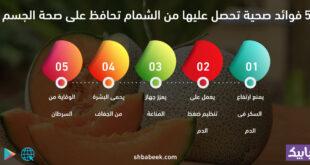 5 فوائد صحية تحصل عليها من الشمام تحافظ على صحة الجسم