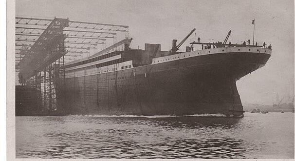 بطاقة بريدية تحمل صورة 'تيتانيك' تعرض للبيع فى مزاد بـ15 ألف دولار