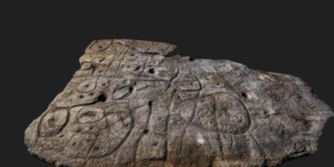 لوح حجري عمره 4 آلاف عام قد يكون أقدم خارطة ثلاثية الأبعاد في أوروبا