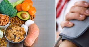 5 أطعمة تخفض ضغط الدم.. منها الخضروات والفاكهة والحبوب الكاملة