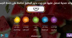 5 فوائد صحية تحصل عليها من زيت بذور البطيخ تحافظ على صحة الجسم