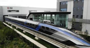 الصين تكشف عن قطار مغناطيسي تبلغ سرعته 600 كلم في الساعة.. الأسرع فوق الأرض!