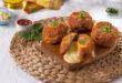 كفتة لحم بالجبن الموزاريلا والشيدر