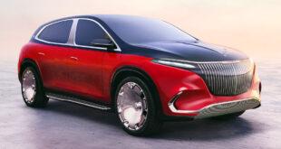 'مرسيدس - مايباخ' تكشف عن نسخة فاخرة لسيارة الكروس الكهربائية