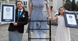 التركية روميزا أطول امرأة في العالم .. تنضم لموسوعة جينيس بـ 215.16 سم