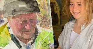 طفلة بريطانية تتحول إلى فنانة عالمية برسومات طبيعية والسبب كورونا