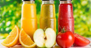 عصائر الفاكهة الآمنة لمرضى السكر ولا تزيد مستوياته بالدم