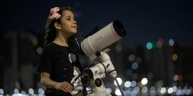 فتاة برازيلية عمرها 8 سنوات تكتشف 18 كويكبا