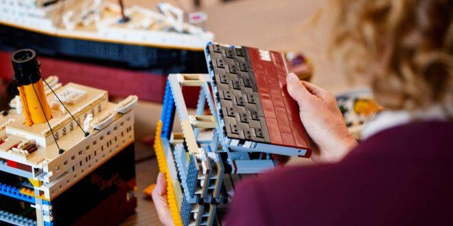 ليجو تطلق نموذجا طبق الأصل لسفينة تيتانك مصمم بأكثر من 9 آلاف مكعب